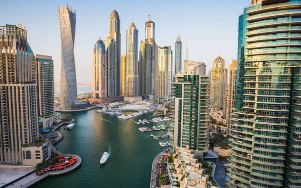 Ausblick auf Dubai