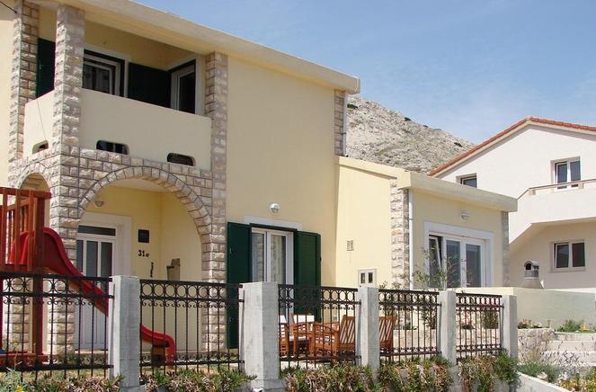 kroatien ferienwohnung f r 3 personen eigene anreise inkl terrasse mit meerblick schon f r. Black Bedroom Furniture Sets. Home Design Ideas